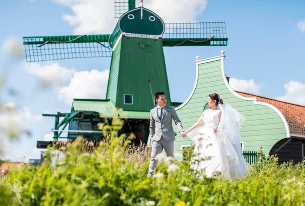 Destination wedding in the Netherlands